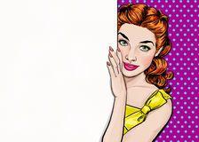 Meninas Do Pop Art Com Bolha Do Discurso Convite Do Partido Cartão Do Aniversário Cartaz Da Propaganda Do Vintage Mulher Cômica - Baixe conteúdos de Alta Qualidade entre mais de 55 Milhões de Fotos de Stock, Imagens e Vectores. Registe-se GRATUITAMENTE hoje. Imagem: 76148548