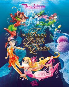Alweer het vierde deel van deze spannende en fantasierijke reeks: De Zeven Rozen 4: De feeën van de Zeven Zeeën. De Thea Sisters gaan op avontuur!
