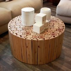 Log coffee table by Artopia