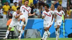 Partido Costa Rica - Uruguay, Mundial de Futbol Brasil 2014