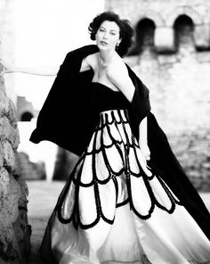 Ava Gardner, photo Norman Parkinson, Spain 1953