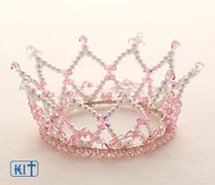 beaded crown idea