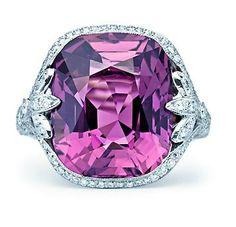 Tiffany's Purple Sapphire Ring