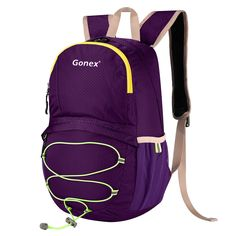 Gonex 15L Lightweight Packable Backpack Cute Handy Hiking Pack Waterproof Daypack for Kids *** Hurry! Check out this great item : backpacking packs
