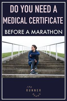 """""""Running a marathon anytime soon and wondering if you need a medical certificate before your marathon? Find out now  #marathon #marathoncertificate #marathonprep #marathonmusthaves #therunnerbeans"""" Running Humor, Running Workouts, Running Tips, Treadmill Workouts, Marathon Training Diet, Marathon Running, Marathon Motivation, Training Motivation, Duathlon Training"""