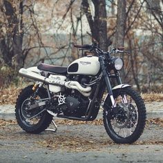 The Triumph Tramontana custom Scrambler