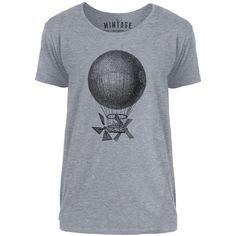 Mintage Magnificent Air Machine Mens Scoop Neck T-Shirt