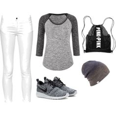 A fashion look from November 2015 featuring maurices t-shirts, French Connection jeans and NIKE sneakers. Browse and shop related looks.