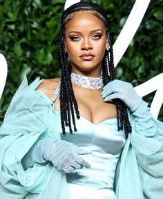 Rihanna at the British Fashion Awards 2019. en 2020