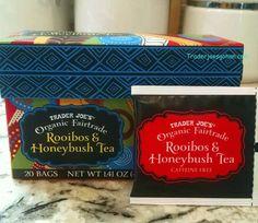 Trader Joe's Organic Fairtrade Rooibos & Honeybush Tea bags is $2.49 トレーダージョーズ オーガニック ルイボスティ