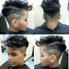 Cute Cut @mesicuts - http://www.blackhairinformation.com/community/hairstyle-gallery/relaxed-hairstyles/cute-cut-mesicuts/ #haircut #shorthair