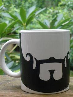 Seneca Crane's Beard Coffee Mug - Hunger Games Inspired. $12.99, via Etsy.