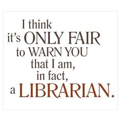I am a Librarian! This is just awesome!  - Reading, Libraries, Books and Spaces #curtnerds