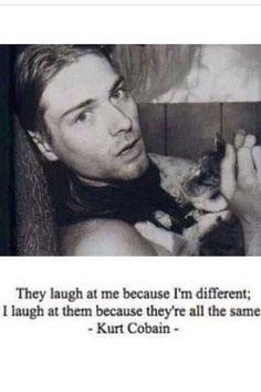 Kurt Cobain nirvana quotes