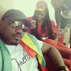 #Blackstars: John Dumelo and Jackie Appiah are patriotic citizens of their country #Ghana, they rooted for their hometeam all the way to #Brazil during the 2014 Fifa #WorldCup. #Ghallywood #Ghollywood