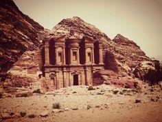 Jordan - El Deir in Petra