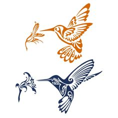 Humming Bird SVG Cuttable Design