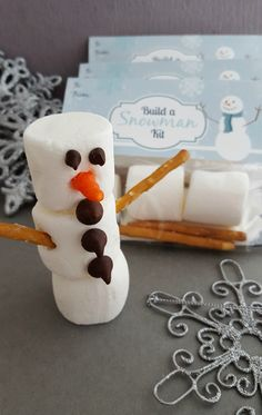 Create an Olaf with this Build a Snowman Kit for Parties - The Bandit Lifestyle