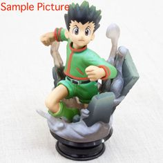 HUNTER × HUNTER Gon Freecss Chess Piece Collection Figure Black Stand JAPAN