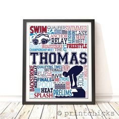 swim team gift