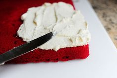 """THE ORIGINAL Red Velvet Cake Frosting (NOT cream cheese frosting!) -- aka """"That's the best frosting I have ever had"""" nicknamed by the Pioneer Woman"""