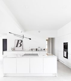 I know I keep saying I would like an old apartment with original features, but I have to say I kind of like this home.. a lot! This is the home of stylist Marja Wickman from the interior blog Musta Ov