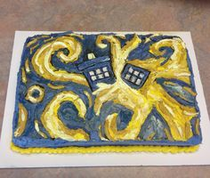 Doctor Who - The Greatest Show in the Galaxy- easy enough just need to ice no cake building