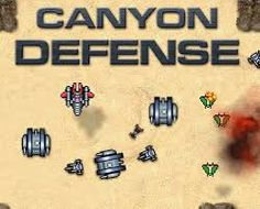 Canyon Defense is a very old tower defense game. It's one of the first TD games that really helped boost the idea of playing these types of games. There are a total of 3 maps but several rocket launching, machine gunning fun to keep you playing for an hour (maybe).  http://www.friv1k.com/play-canyon-defense-game.html