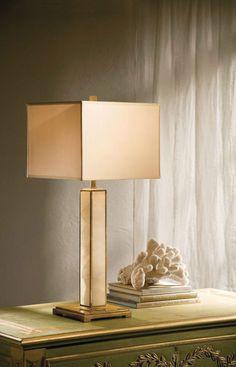 modern alabaster lamp