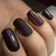 Trendy & beautiful matte nail ideas design & color for the evening party