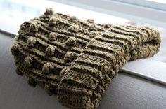 Men's/Unisex Popcorn Crochet Hat By Allen Williams - Free Crochet Pattern - (eatingoutloud)