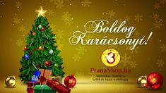 Boldog Karácsonyt! PranaShop.hu 2019