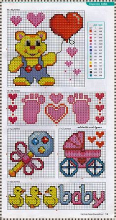 Baby perler bead patterns