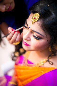 """Photo from Bride with Pride Makeup by Anu and Ridhi """"Portfolio"""" album Best Bridal Makeup, Wedding Makeup Tips, Best Makeup Artist, Makeup Artists, Red Lip Makeup, Bridesmaid Makeup, Makeup Designs, Makeup Inspiration, Makeup Ideas"""