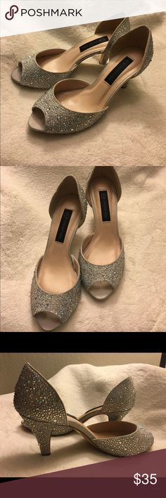 Forever New shoes #Forever New  beautiful sparkly heels , size 37 , never worn outside ...  Used for an hour as a prop !!  😊 Forever New  Shoes Heels