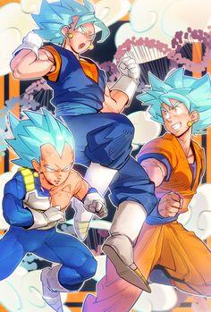 Vegeta and Goku = Vegito