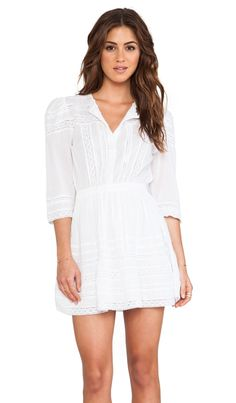 Tularosa Payton Dress in White | REVOLVE