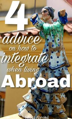 Worried about not fitting in? I share my best tips on how to integrate when abroad after having lived in four different countries myself - Becci Abroad