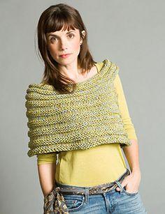 Classic Elite Anthea Easy Wrap Knitting Pattern