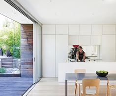 A cottage in Sydney's Inner West is given new life with a timber-clad Swiss-style rear extension reminiscent of the childhood home of its owner.