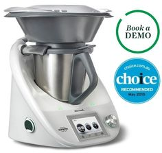 Thermomix - all in one kitchen appliance: steam, weigh, mill, beat, chop, juice, cook, blend, knead, etc. $2089