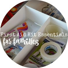 What to Include in a Family First Aid Kit