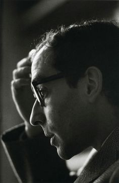 Jean-Luc Godard, 1965 by Jeanloup Sieff; beautiful lighting is everything when it comes to photography
