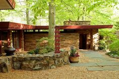 Delaware Spaces: Frank Lloyd Wright's only house in Delaware