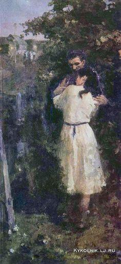 Гаврилов Владимир Николаевич (Россия, 1923-1970) «Май. Северная ночь» 1954
