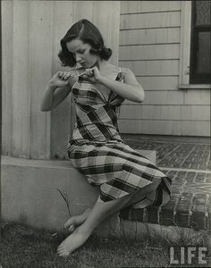 Summer underwear by Nina Leen