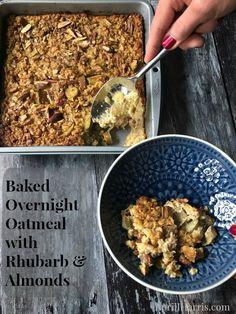 Baked Overnight Oatm