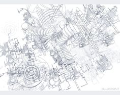 27 best blueprint images on pinterest technical illustration blueprint malvernweather Images