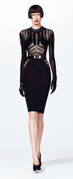 Julien Macdonald Fall 2012. This dress is badass.