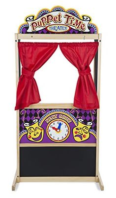 Melissa and Doug Deluxe Puppet Theater * Learn more by visiting the image link.
